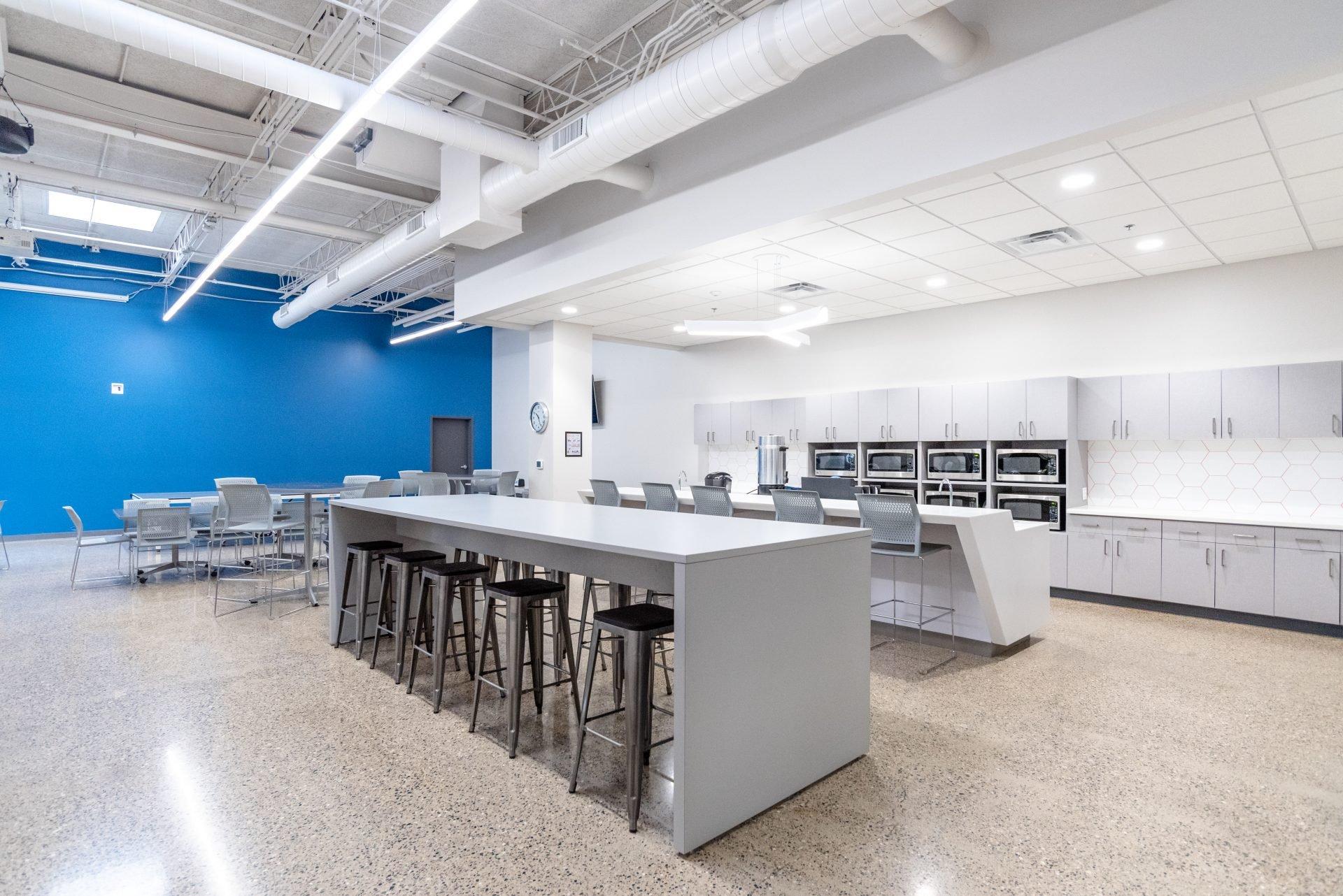 Tech Defenders Office Breakroom Kitchen